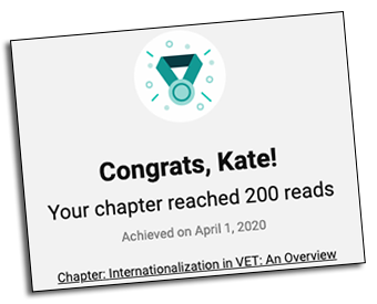 Book chapter milestone on www.researchgate.net. Click to access this chapter.